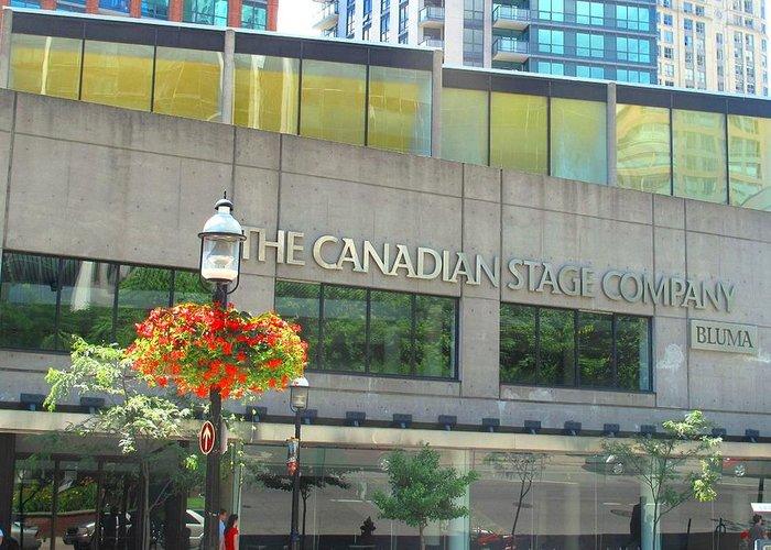 Canada Greeting Card featuring the photograph The Canadian Stage Company by Ian MacDonald