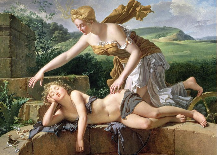Allegorical Allegory Greeting Cards