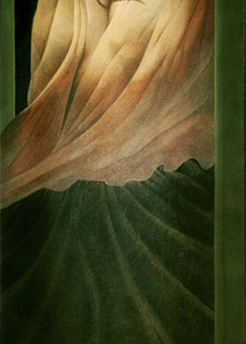 Figure Greeting Card featuring the painting The Countess by James LeGros