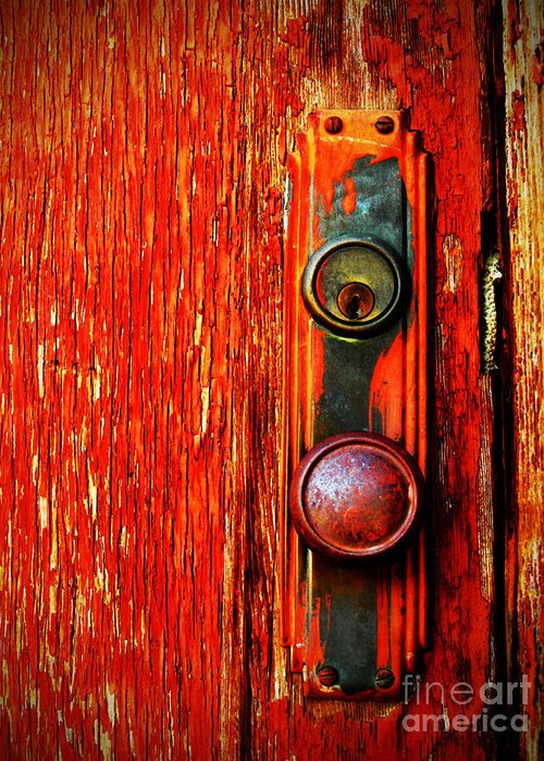 Red Door Greeting Cards