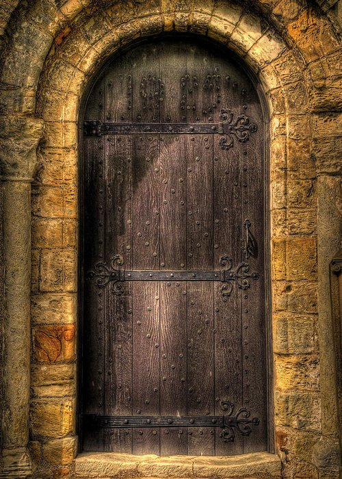 Door Greeting Card featuring the photograph The Door by Svetlana Sewell
