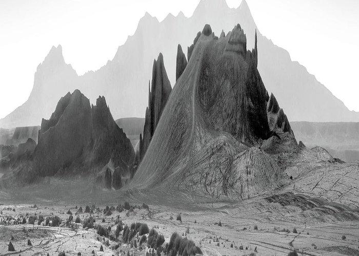 Utah Mountains Greeting Cards