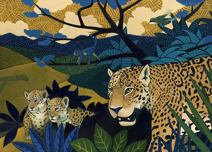 Jaguars Greeting Cards