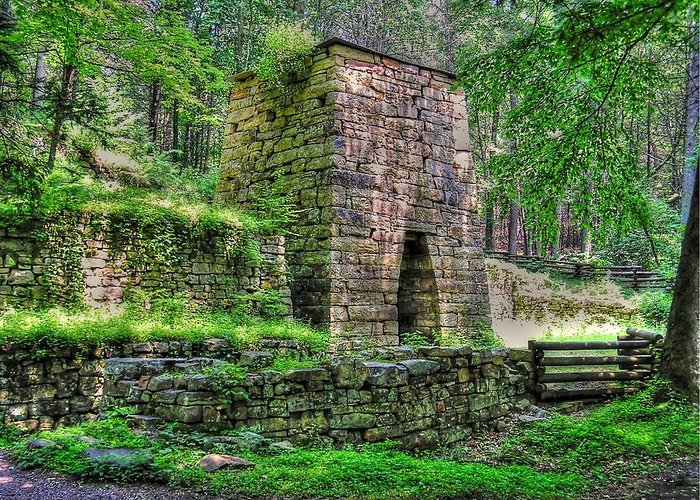Hiking Greeting Card featuring the photograph The Furnace by Andrew Webb