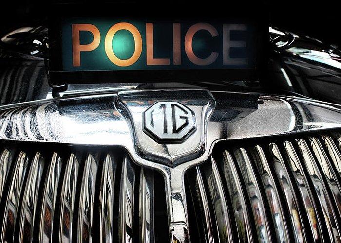 Patrol Cars Greeting Cards