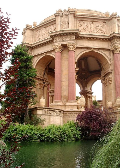 San Francisco Greeting Card featuring the photograph The Garden by Karla Kernz
