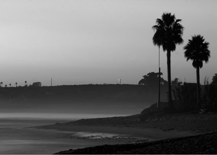 Landscape Greeting Card featuring the photograph The Ghost Tide Of San Onofre by Brad Scott