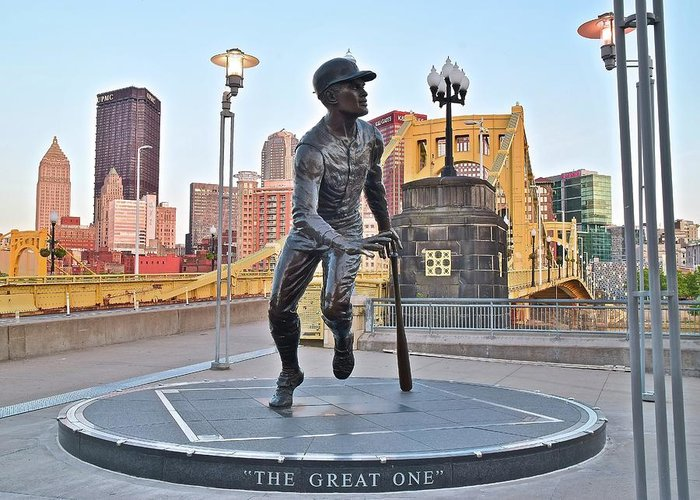 Pittsburgh Greeting Card featuring the photograph The Great One by Frozen in Time Fine Art Photography