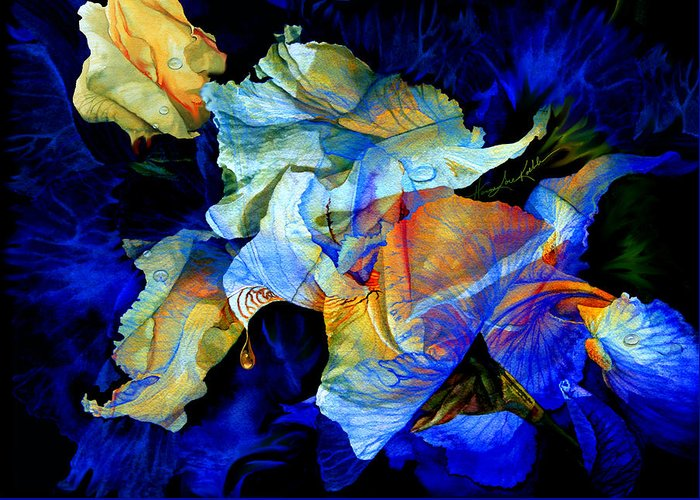Dewdrops Paintings Greeting Cards