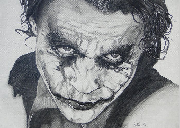 The joker greeting card for sale by stephen sookoo the joker greeting card featuring the drawing the joker by stephen sookoo m4hsunfo