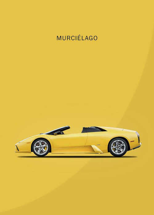 Lamborghini Murcielago Greeting Cards