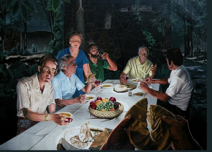 Last Supper Greeting Cards