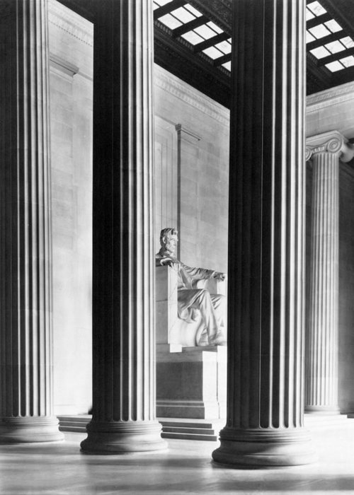 Lincoln Memorial Greeting Cards