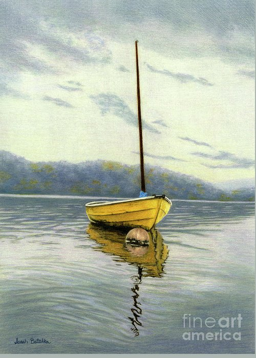 Cape Cod Fishing Boat Greeting Cards