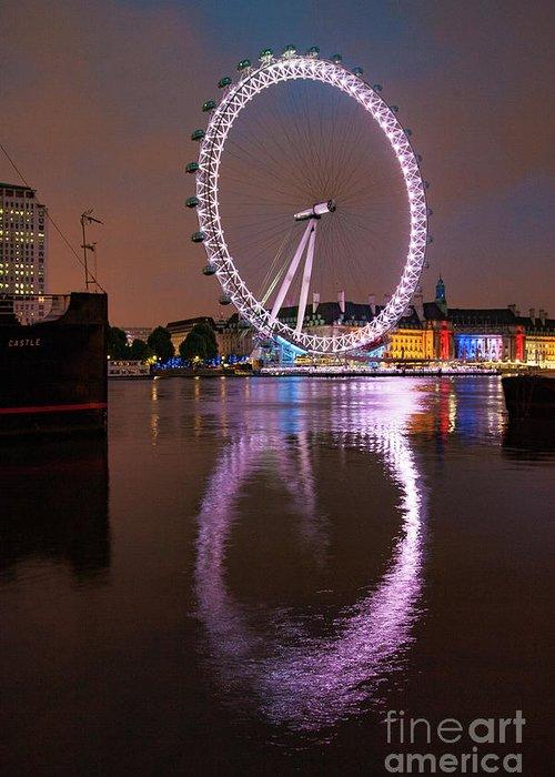 London Eye Photographs Greeting Cards