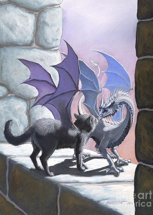 Fantasy Cats Greeting Cards