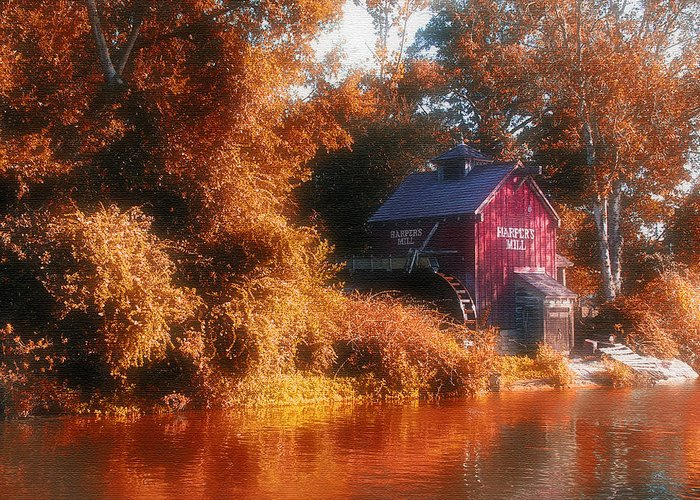Mill Greeting Card featuring the photograph The Mill by Kenneth Krolikowski