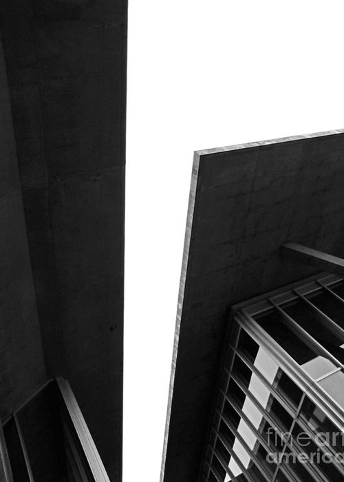 Architecture Greeting Card featuring the photograph The Modern by Slade Roberts