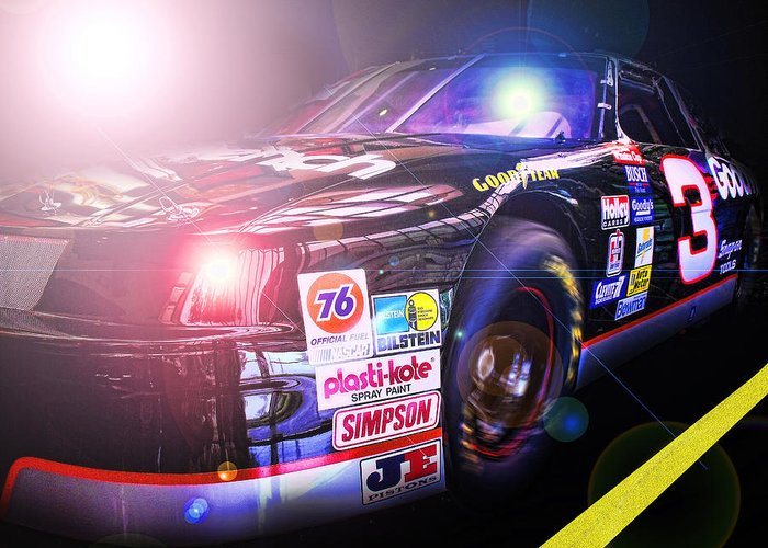 3 Greeting Card featuring the photograph The Need For Speed 3 by Kenneth Krolikowski
