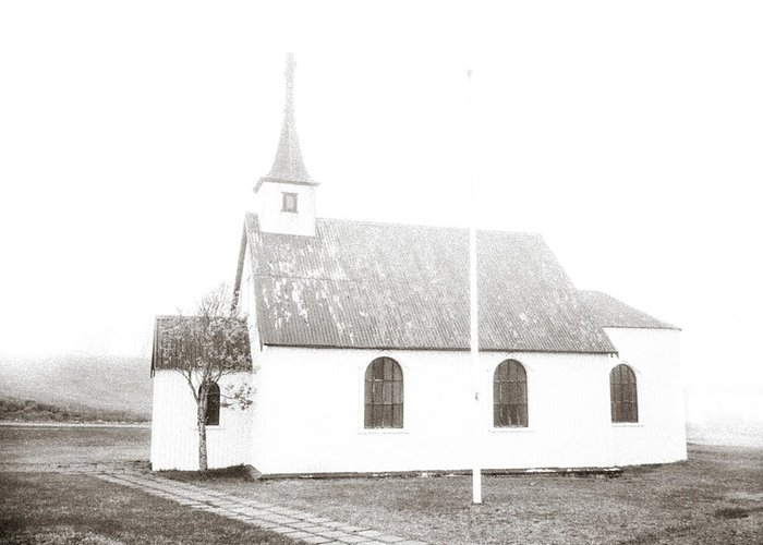 Church Greeting Card featuring the photograph The Old Church by Bo Nielsen