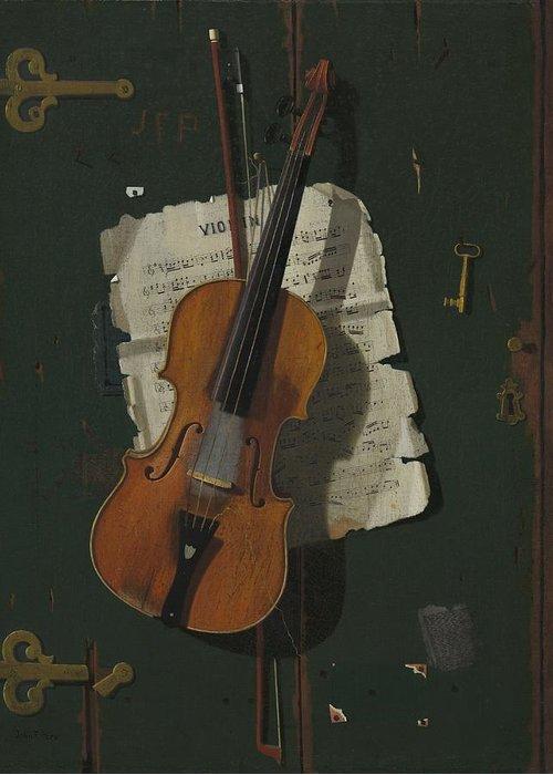 Violin Greeting Cards
