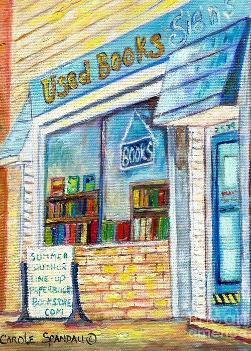 Store Fronts Greeting Cards