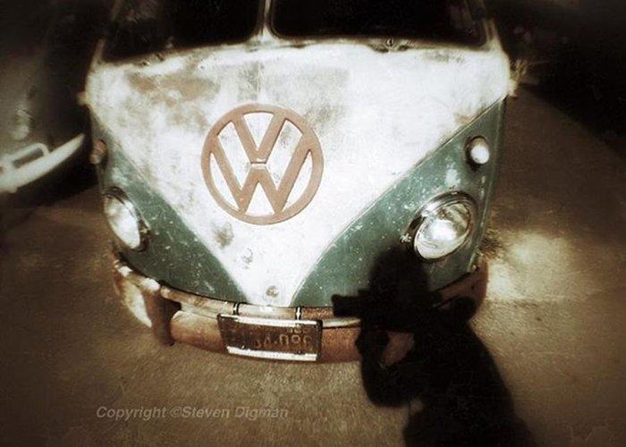 Volkswagen Bus Greeting Cards