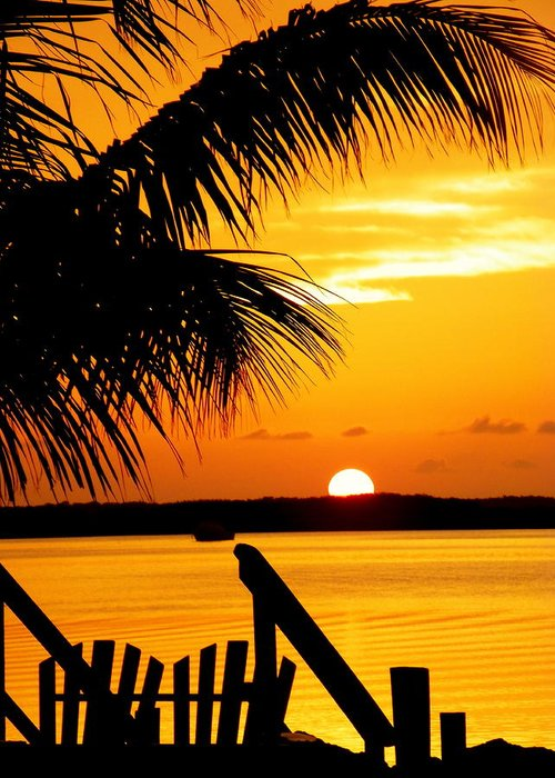 Sunsets Greeting Card featuring the photograph The Promise by Karen Wiles