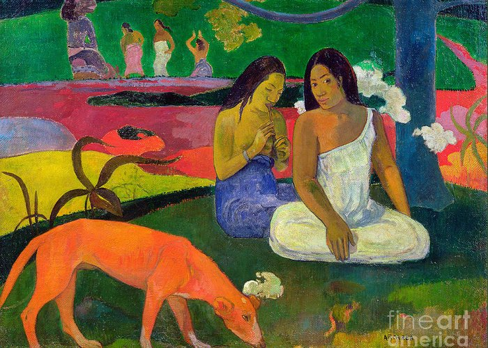Paul Gauguin Greeting Cards