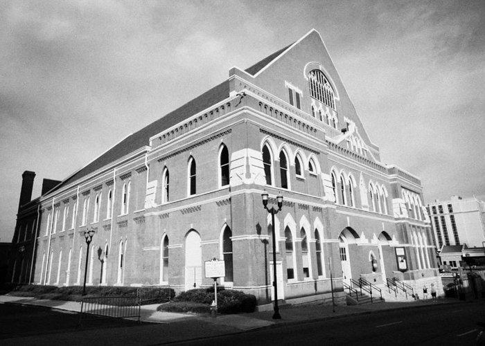 Ryman Auditorium Stationery