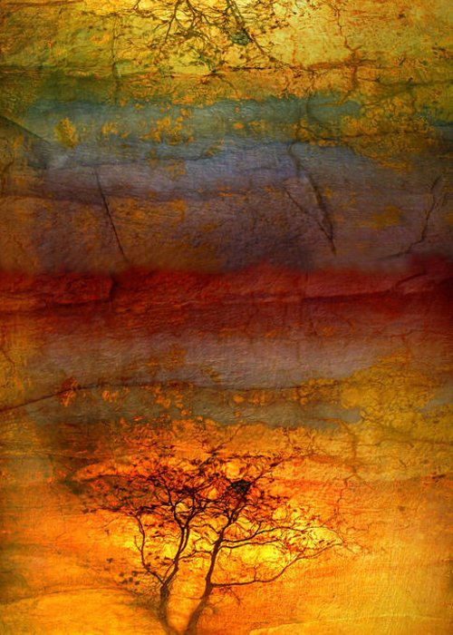 Trees Greeting Card featuring the photograph The Soul Dances Like A Tree In The Wind by Tara Turner