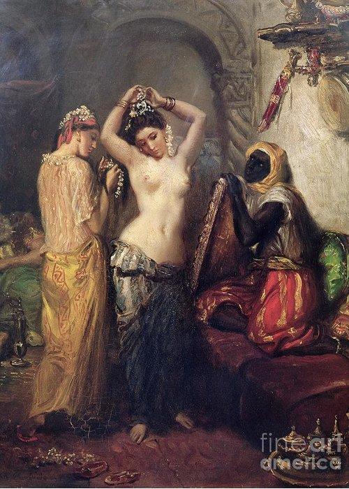 Illustrated turkish hareem sex slaves