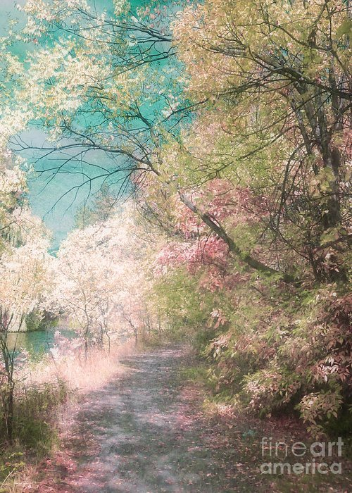Pastel Greeting Card featuring the photograph The Walkway Of Forgotten Dreams by Tara Turner