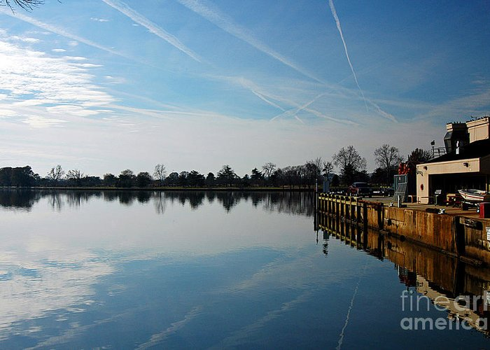Clay Greeting Card featuring the photograph The Washington D.c. Basin by Clayton Bruster