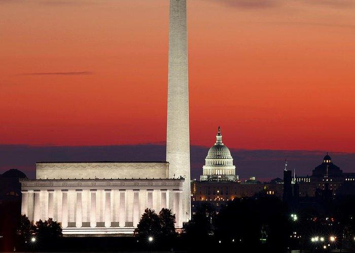 Washington Monument Greeting Cards