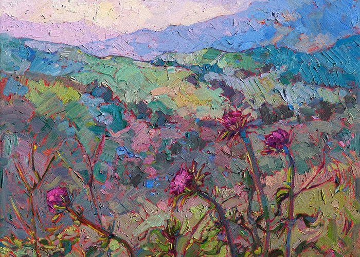 Thistles Greeting Cards