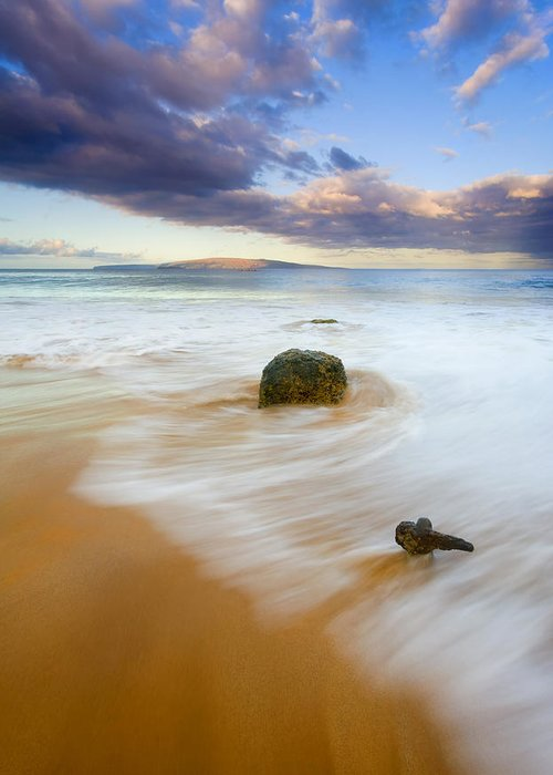 Maui Greeting Card featuring the photograph Tied To The Past by Mike Dawson