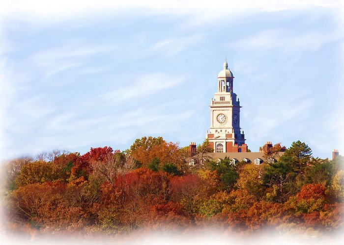 Autumn Greeting Card featuring the photograph Time For Fall by Jim Darnall