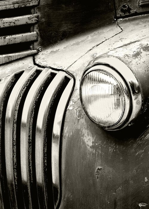 Cars Greeting Card featuring the photograph Time Traveler by Holly Kempe