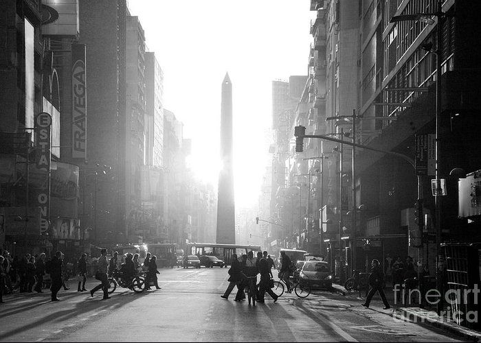 Buenos Aires Greeting Card featuring the photograph Timeless Buenos Aires by Bernardo Galmarini