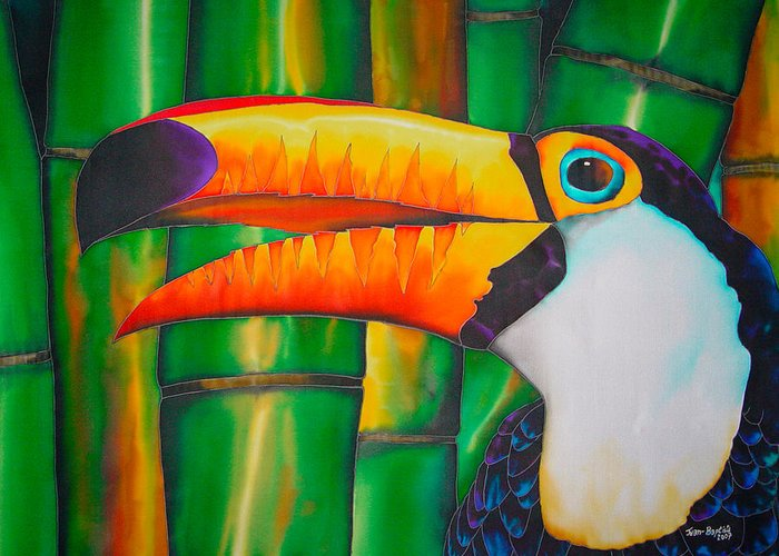 Toucan Postcard Greeting Cards