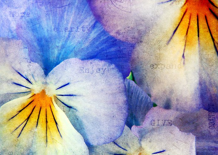 Agriculture Greeting Card featuring the photograph Tones Of Blue by Darren Fisher