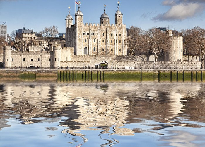 Tower Of London Greeting Cards