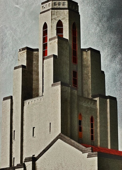 Spirits Greeting Card featuring the photograph Tower Of Memories by Kevin Munro