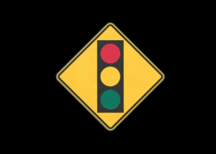 Signs Greeting Card featuring the painting Traffic Light T-shirt by Herb Strobino