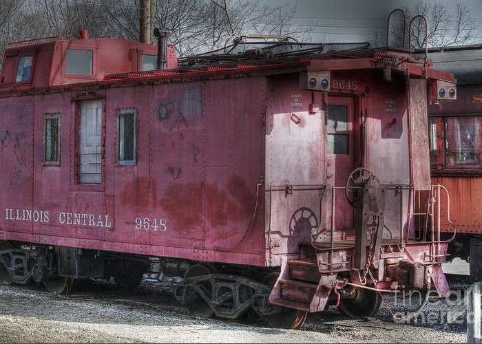 Trains Greeting Card featuring the photograph Train Series 2 by David Bearden
