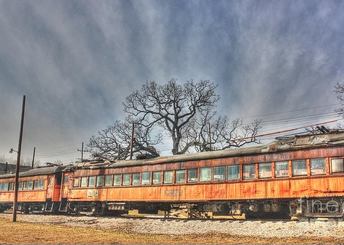 Trains Greeting Card featuring the photograph Train Series 3 by David Bearden
