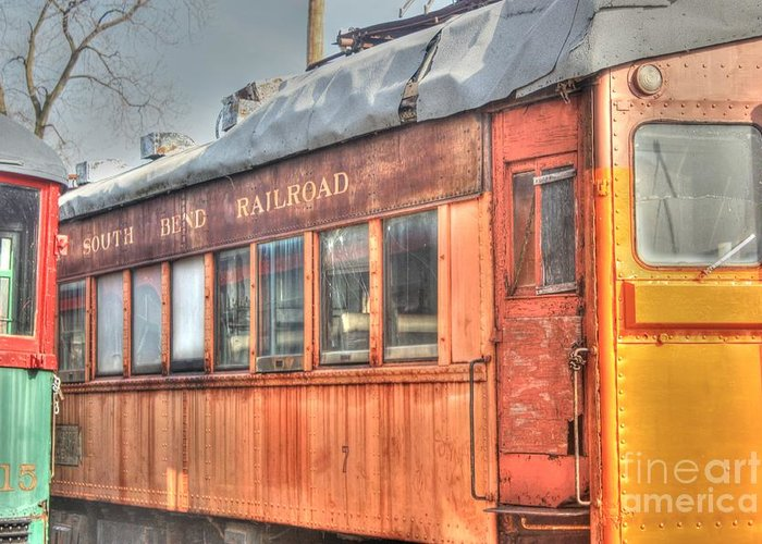 Trains Greeting Card featuring the photograph Train Series 5 by David Bearden