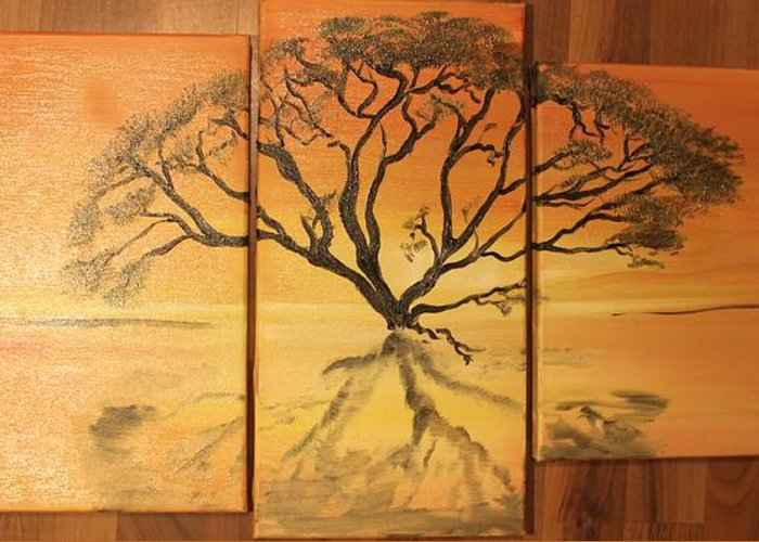 Tree of africa greeting card for sale by moreli rasta woman tree greeting card featuring the painting tree of africa by moreli rasta woman m4hsunfo