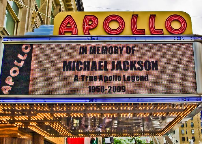 Apollo Theater Greeting Cards